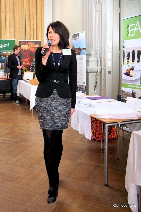 Helsinki East tutuksi -minimessut G18 juhlasali 16.3.2017