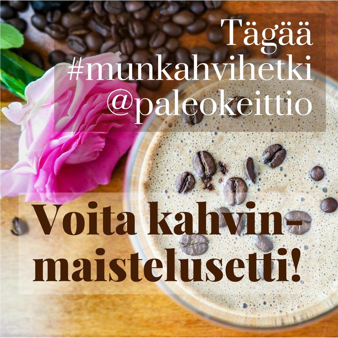 Tägää #munkahvihetki @paleokeittio